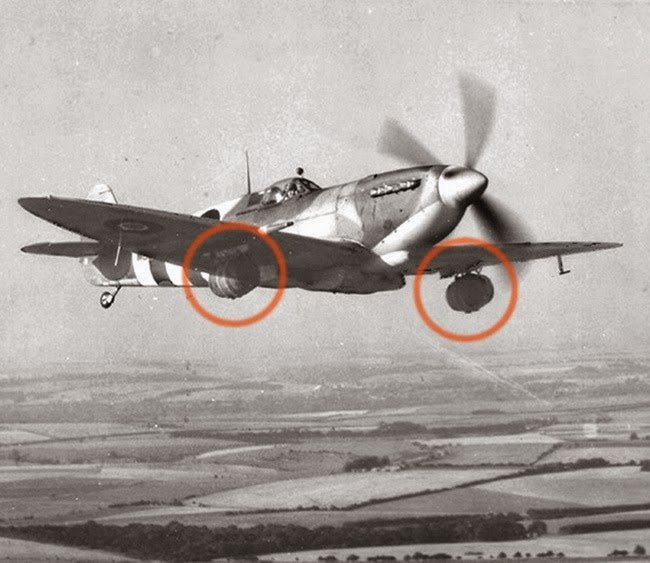 A brewery delivers kegs on a spitfire to troops fighting in Normandy #History