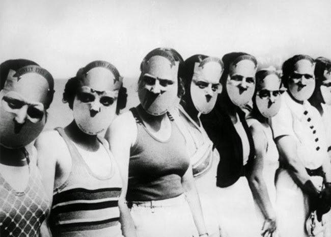 The participants of the Miss Lovely Eyes competition in Florida held in 1930 #History
