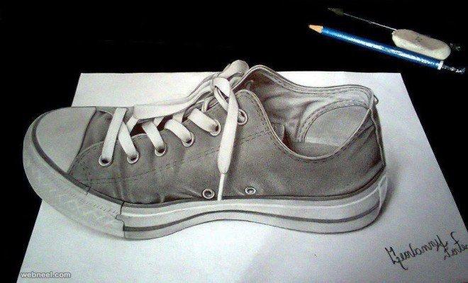 لوحات فنية #3D باستخدام أقلام الرصاص والجرافيت #فن - صورة 4