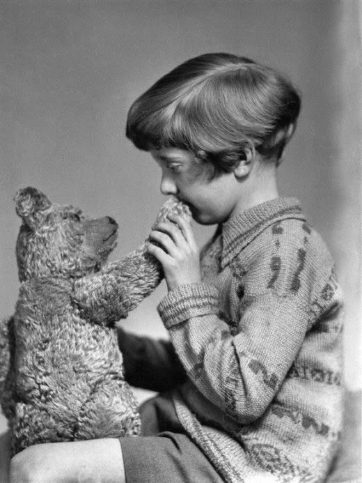 The real-life Christopher Robin and Winnie The Pooh #History