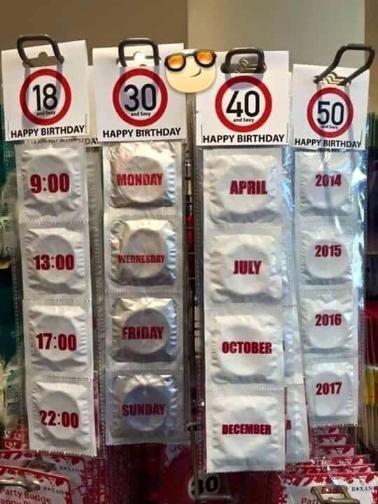 Condoms joke