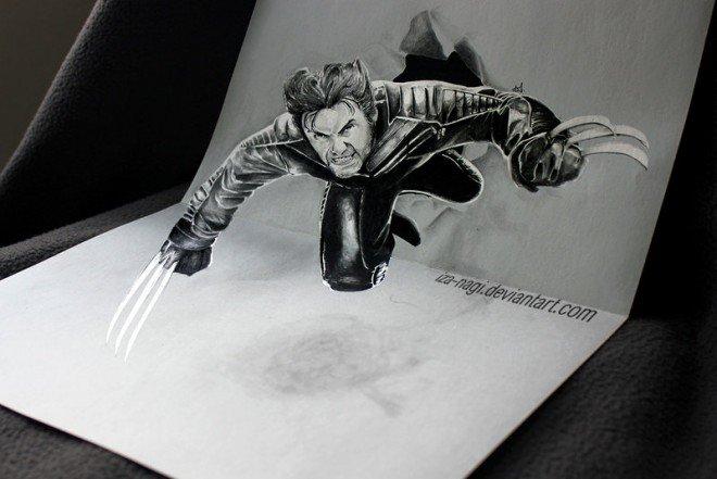 لوحات فنية #3D باستخدام أقلام الرصاص والجرافيت #فن - صورة 5