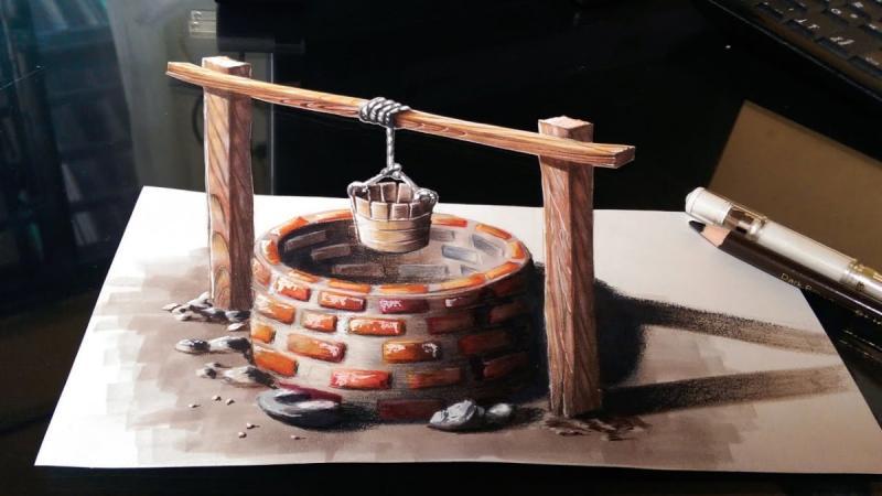 لوحات فنية #3D باستخدام أقلام الرصاص والجرافيت #فن - صورة 26