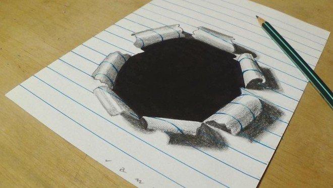 لوحات فنية #3D باستخدام أقلام الرصاص والجرافيت #فن - صورة 11