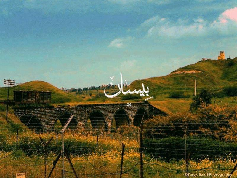صور #خلفيات مدن #فلسطين - بيسان