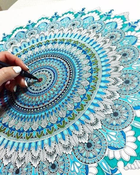 لوحات فنية مميزة متناسقة الألوان #فن - صورة ٦
