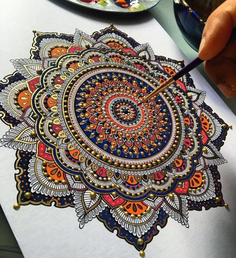 لوحات فنية مميزة متناسقة الألوان #فن - صورة ٧