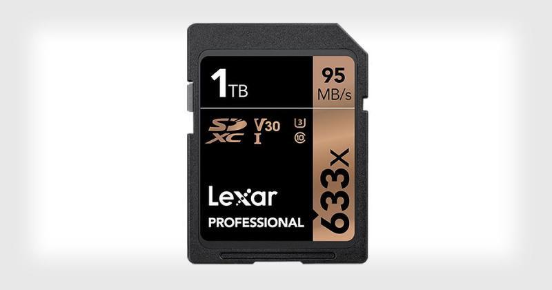إطلاق أول بطاقة ذاكرة بحجم ١ تيرابايت من قبل شركة #Lexar