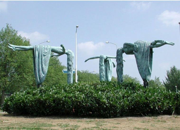 تماثيل تتحدى الجاذبية #فن - صورة ١٥