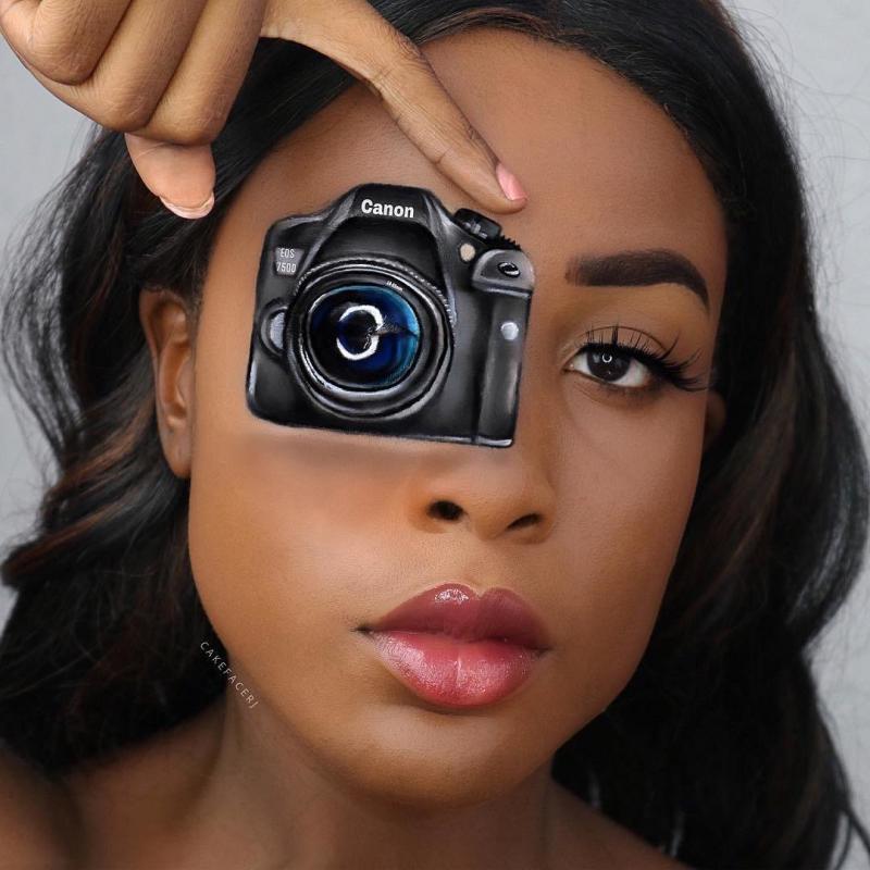 ١٨ صورة للرسم على الوجه باستخدام #الماكياج للفنانة RJ #بنات - صورة ٩