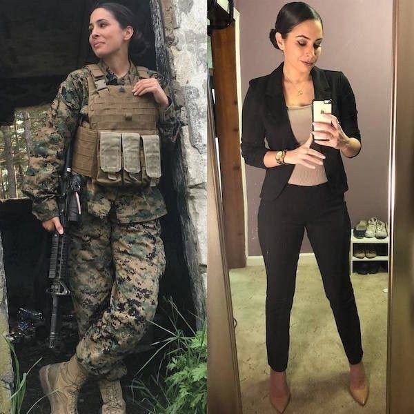 #فتيات #نساء بالزي الرسمي #العسكري وبدونه من موقع #Instagram - صورة ٢٥