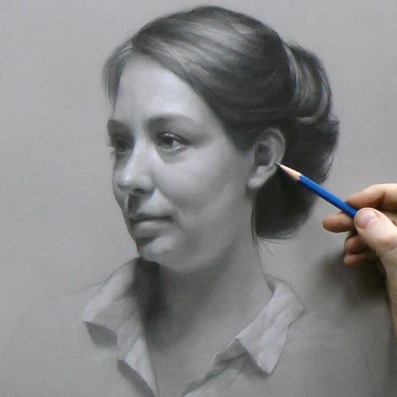 ٤٠ لوحة فنية لرسم الواقع تظهر كأنها صور فوتوغرافية #فن - صورة ٣٠