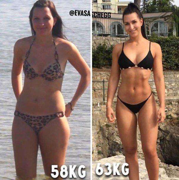 37 صورة تثبت أن الوزن الأقل وحده ليس دليل على الرشاقة #تخسيس #بنات #صحة - صورة 6
