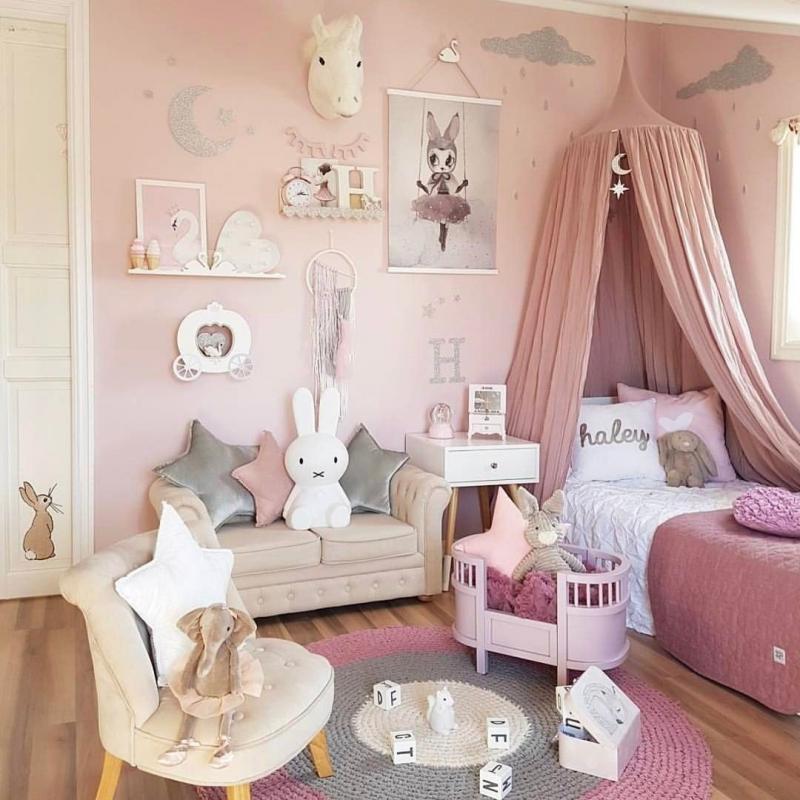 ١٠ أفكار #تصاميم غرف #بنات - صورة ٧