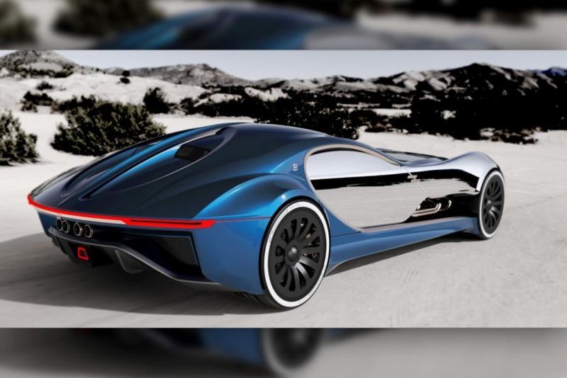 ١٤ صورة للتصميم المستقبلي لسيارة Bugatti Type 57T #سيارات - صورة ٣