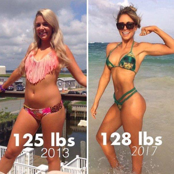 37 صورة تثبت أن الوزن الأقل وحده ليس دليل على الرشاقة #تخسيس #بنات #صحة - صورة 2