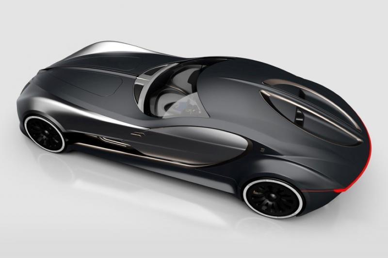 ١٤ صورة للتصميم المستقبلي لسيارة Bugatti Type 57T #سيارات - صورة ١١