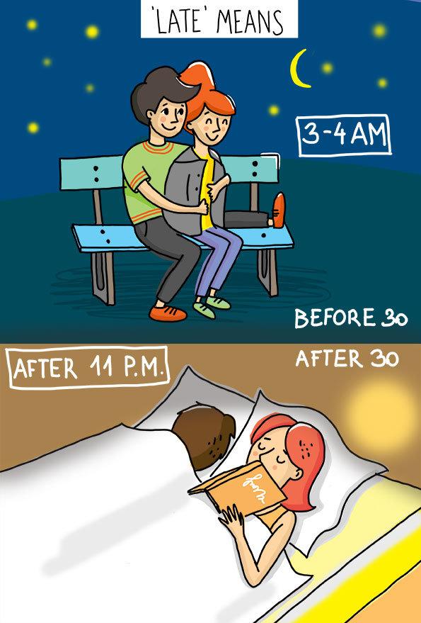 21 صورة تظهر تغير #الحب قبل وبعد عمر ال30 - صورة 19