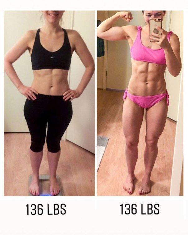 37 صورة تثبت أن الوزن الأقل وحده ليس دليل على الرشاقة #تخسيس #بنات #صحة - صورة 22