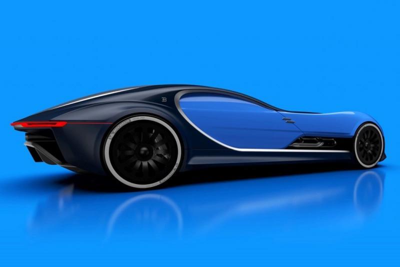 ١٤ صورة للتصميم المستقبلي لسيارة Bugatti Type 57T #سيارات - صورة ٨