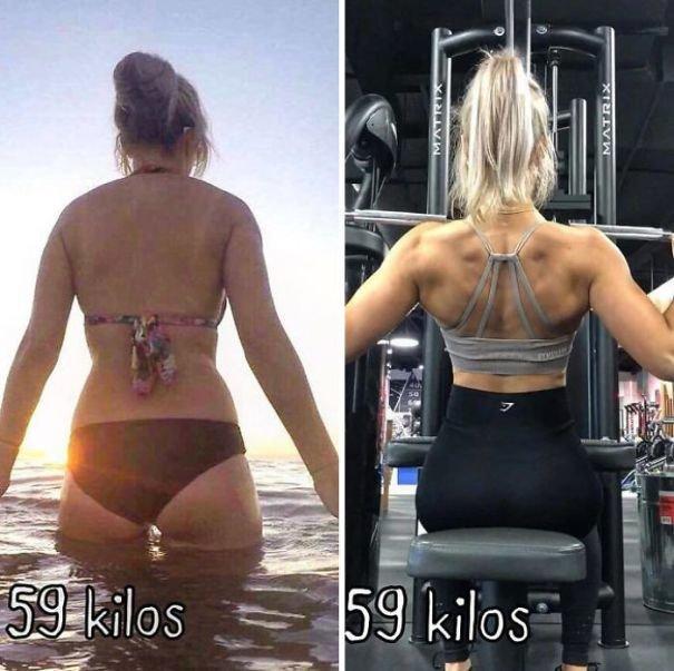 37 صورة تثبت أن الوزن الأقل وحده ليس دليل على الرشاقة #تخسيس #بنات #صحة - صورة 16