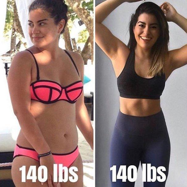 37 صورة تثبت أن الوزن الأقل وحده ليس دليل على الرشاقة #تخسيس #بنات #صحة - صورة 19