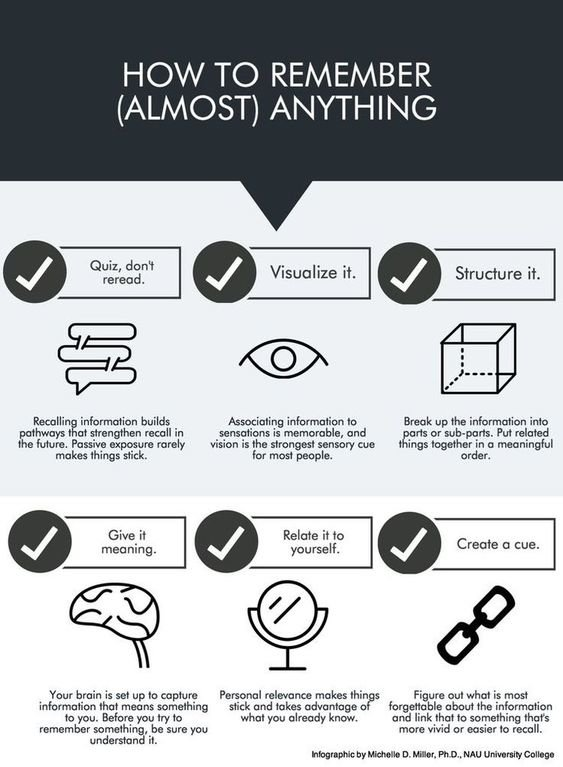 How to remember almost everything #Infographic