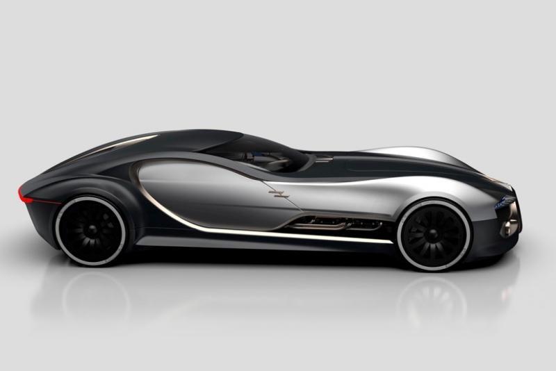 ١٤ صورة للتصميم المستقبلي لسيارة Bugatti Type 57T #سيارات - صورة ٢