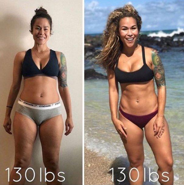 37 صورة تثبت أن الوزن الأقل وحده ليس دليل على الرشاقة #تخسيس #بنات #صحة - صورة 15
