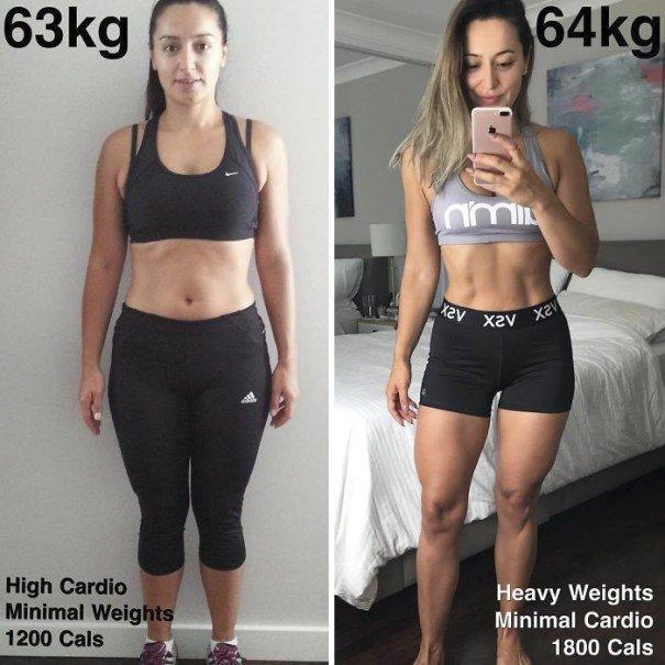 37 صورة تثبت أن الوزن الأقل وحده ليس دليل على الرشاقة #تخسيس #بنات #صحة - صورة 5