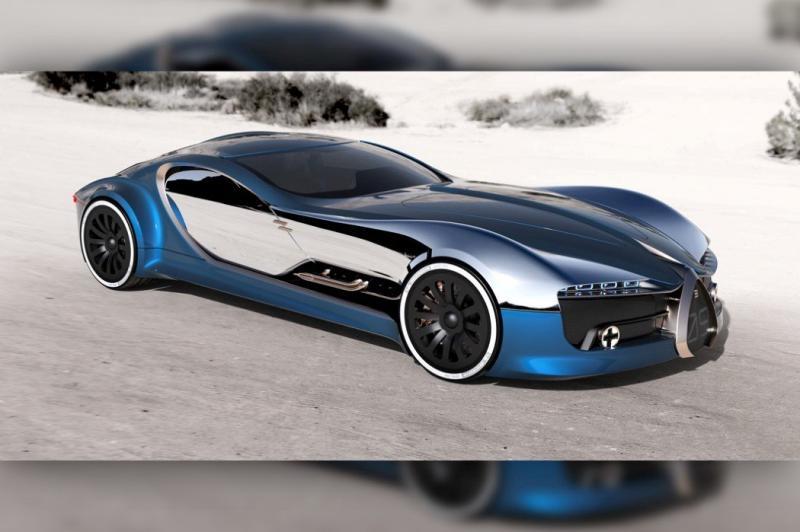 ١٤ صورة للتصميم المستقبلي لسيارة Bugatti Type 57T #سيارات - صورة ٤