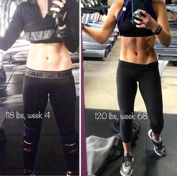 37 صورة تثبت أن الوزن الأقل وحده ليس دليل على الرشاقة #تخسيس #بنات #صحة - صورة 26