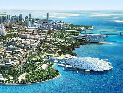 أماكن عليك زيارتها في #أبوظبي #الإمارات #سياحة - متحف اللوفر