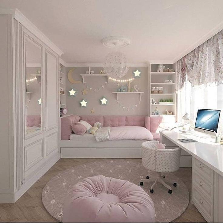 ١٠ أفكار #تصاميم غرف #بنات - صورة ١٠