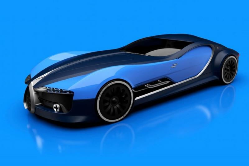 ١٤ صورة للتصميم المستقبلي لسيارة Bugatti Type 57T #سيارات - صورة ٩