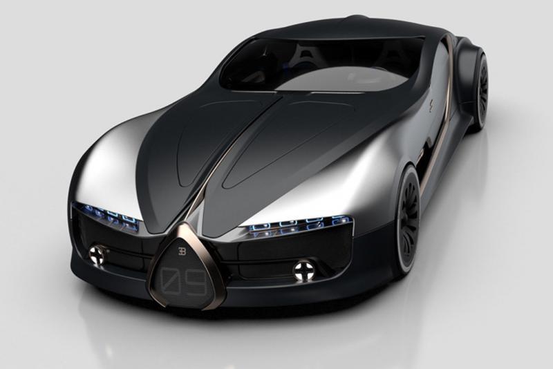 ١٤ صورة للتصميم المستقبلي لسيارة Bugatti Type 57T #سيارات - صورة ١٤