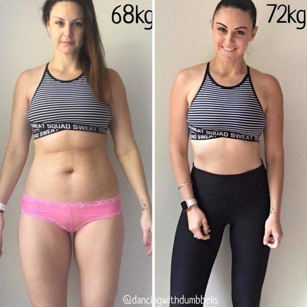 37 صورة تثبت أن الوزن الأقل وحده ليس دليل على الرشاقة #تخسيس #بنات #صحة - صورة 11