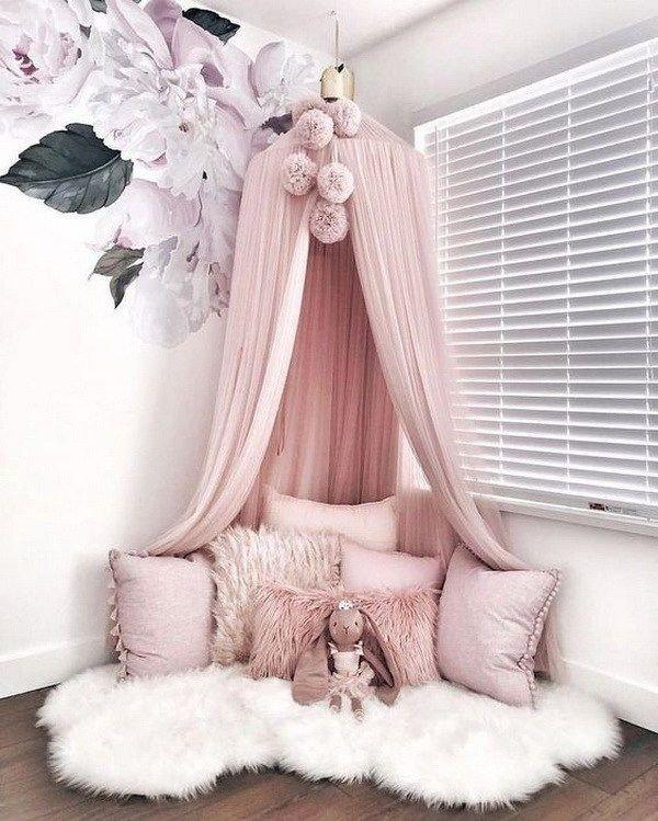 ١٠ أفكار #تصاميم غرف #بنات - صورة ٥