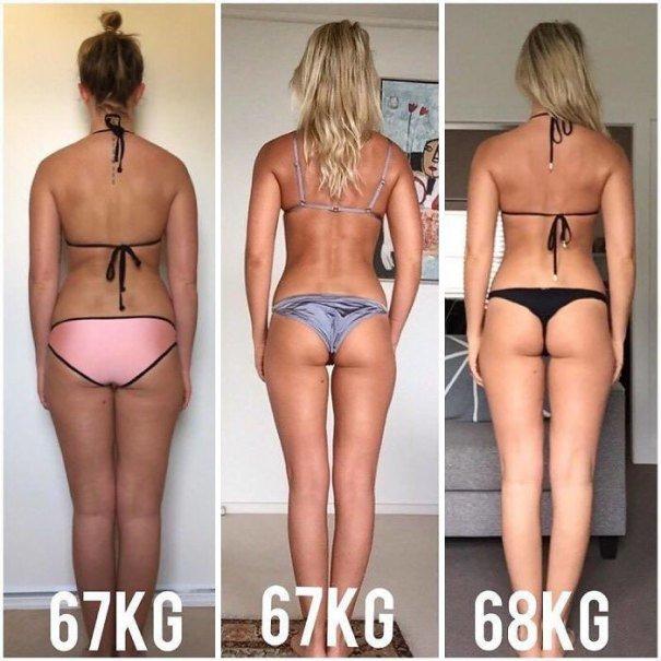 37 صورة تثبت أن الوزن الأقل وحده ليس دليل على الرشاقة #تخسيس #بنات #صحة - صورة 24