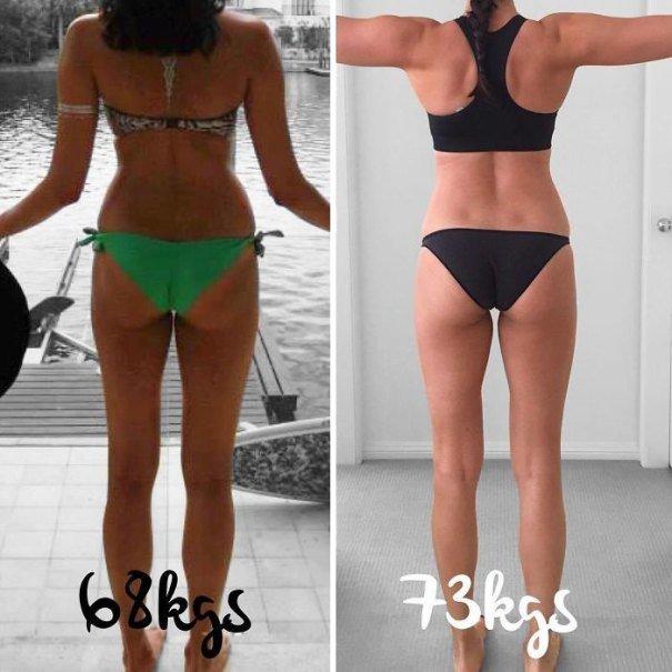 37 صورة تثبت أن الوزن الأقل وحده ليس دليل على الرشاقة #تخسيس #بنات #صحة - صورة 21