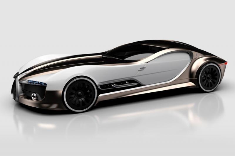 ١٤ صورة للتصميم المستقبلي لسيارة Bugatti Type 57T #سيارات - صورة ١٠