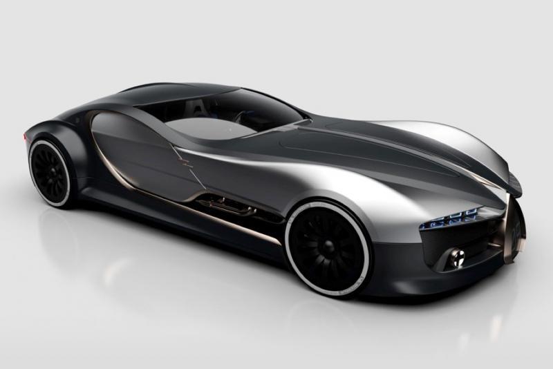 ١٤ صورة للتصميم المستقبلي لسيارة Bugatti Type 57T #سيارات - صورة ١٣