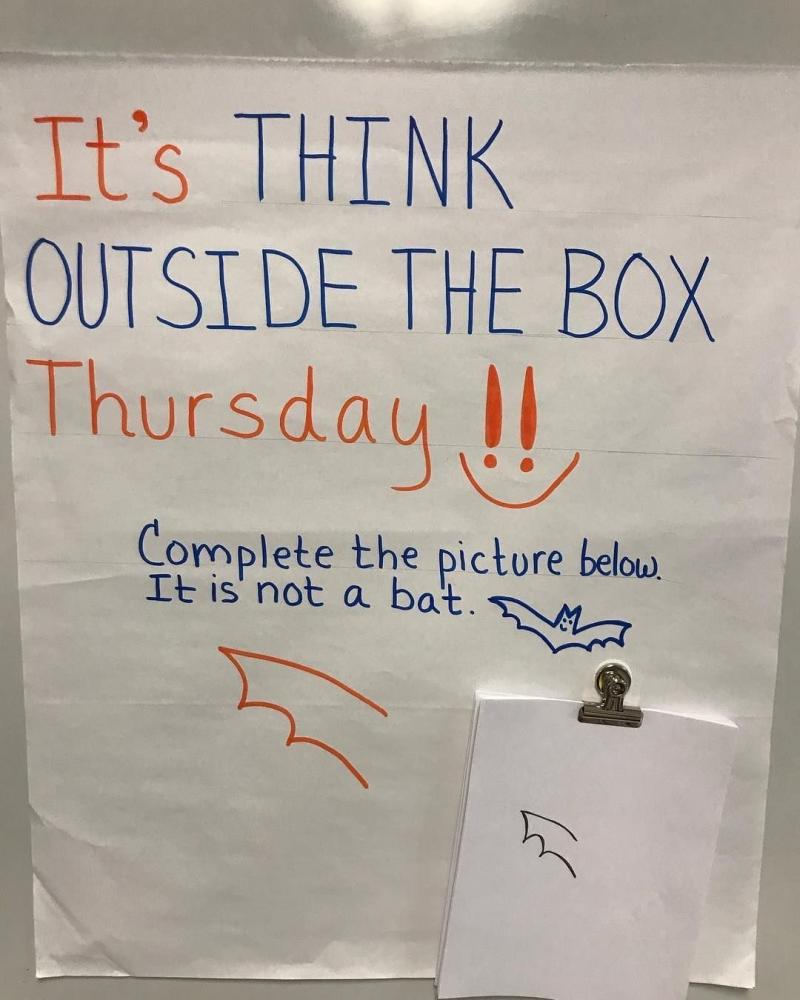 Think outside of the box challenge - image 17