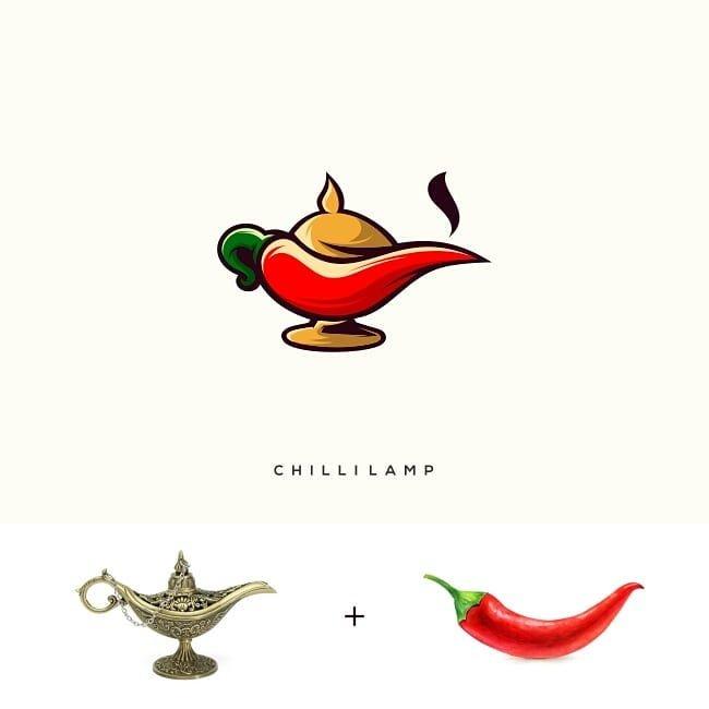 23 من أعمال المصمم الأندونيسي #Rendy_Cemix الذي يقوم بدمج أشكال غير مرتبطة لإنتاج #شعارات #logos مميزة #تسويق #فن - صورة 9