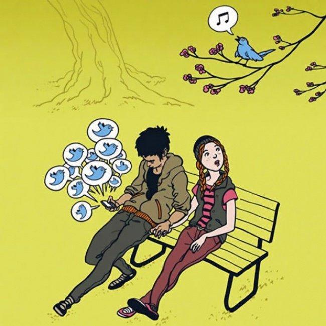18 صورة تجعلنا نتساءل عن الذي يحصل للبشر هذه الأيام #كاريكاتير - صورة 9