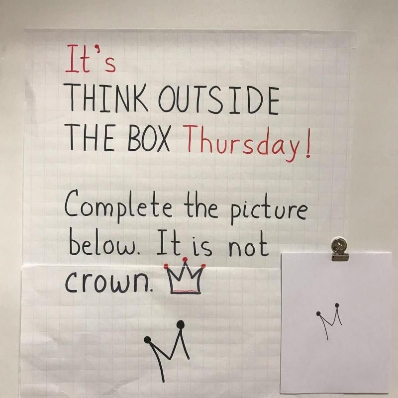 Think outside of the box challenge - image 6