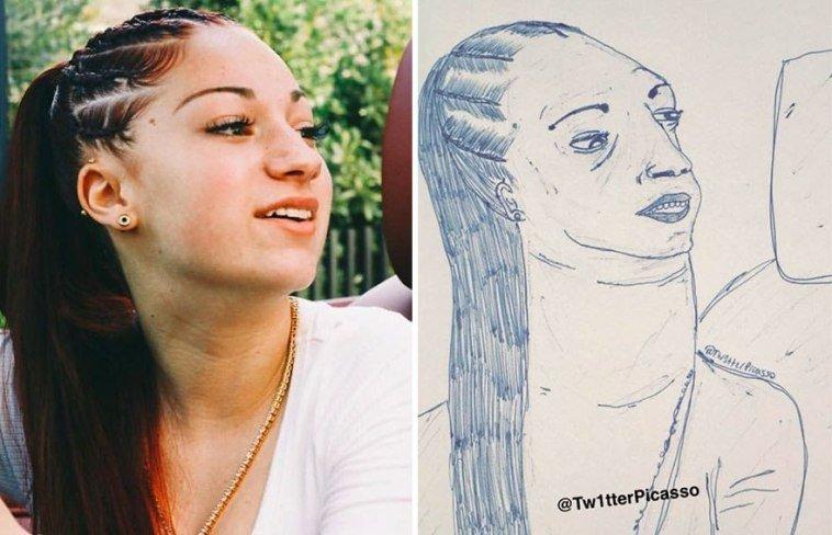 36 صورة لفنان يقوم بنشر رسومات مضحكة لصور #مشاهير على #تويتر @Tw1tterpicasso #مضحك #نهفات #فن - صورة 3