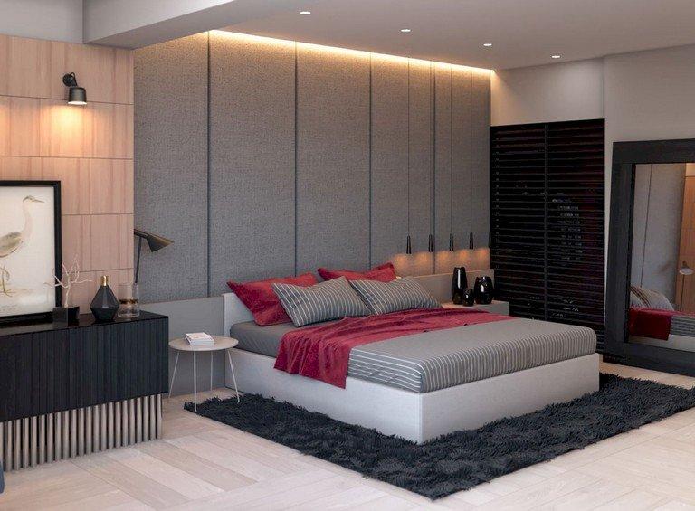 48 تصميم منوع ل #غرف_نوم للمساحات الصغيرة #منازل - صورة 12