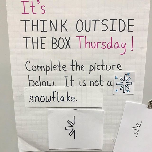 Think outside of the box challenge - image 4