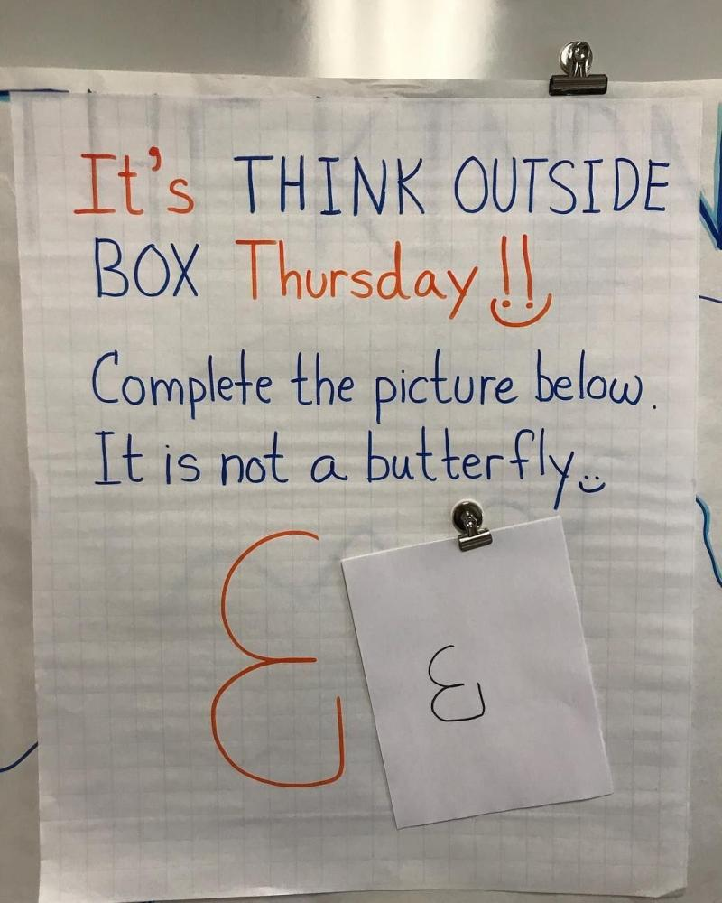 Think outside of the box challenge - image 11